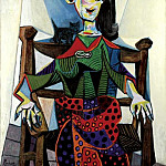 Pablo Picasso (1881-1973) Period of creation: 1931-1942 - 1941 Dora Maar au chat