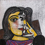 1937 Portrait de Dora Maar 6, Pablo Picasso (1881-1973) Period of creation: 1931-1942
