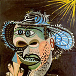 1938 Homme au cornet de glace 3, Pablo Picasso (1881-1973) Period of creation: 1931-1942