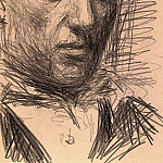 1940 Autoportrait 2, Pablo Picasso (1881-1973) Period of creation: 1931-1942