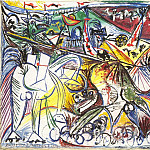 Pablo Picasso (1881-1973) Period of creation: 1931-1942 - 1934 Courses de taureaux (Corrida) 2