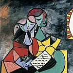 1934 Femmes tenant un livre, Pablo Picasso (1881-1973) Period of creation: 1931-1942