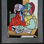 Pablo Picasso (1881-1973) Period of creation: 1931-1942 - 1934 Deux personnages 3