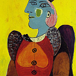 1937 Femme au bВret et Е la robe rouge, Pablo Picasso (1881-1973) Period of creation: 1931-1942