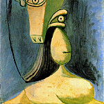 1940 Buste de figure fВminine, Pablo Picasso (1881-1973) Period of creation: 1931-1942