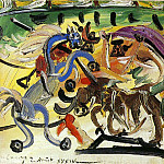 Pablo Picasso (1881-1973) Period of creation: 1931-1942 - 1934 Courses de taureaux (Corrida) 4