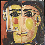 1939 Portrait de Dora Maar 2, Pablo Picasso (1881-1973) Period of creation: 1931-1942