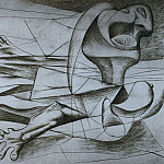 1934 La nageuse, Pablo Picasso (1881-1973) Period of creation: 1931-1942