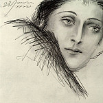 Pablo Picasso (1881-1973) Period of creation: 1931-1942 - 1937 Portrait de Dora Maar