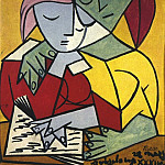 Pablo Picasso (1881-1973) Period of creation: 1931-1942 - 1934 Deux personnages 2