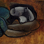 1940 Femme se reposant, Pablo Picasso (1881-1973) Period of creation: 1931-1942