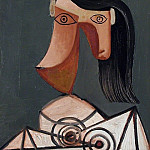 1939 TИte de femme 5, Pablo Picasso (1881-1973) Period of creation: 1931-1942