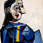 1942 Buste de femme , Pablo Picasso (1881-1973) Period of creation: 1931-1942