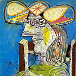 1938 Buste de Femme assise , Pablo Picasso (1881-1973) Period of creation: 1931-1942