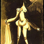 1939 Femme nue debout au peignoir, Pablo Picasso (1881-1973) Period of creation: 1931-1942