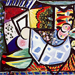 1934 Femme Вtendue sur une canapВ 1, Pablo Picasso (1881-1973) Period of creation: 1931-1942