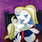 1938 Femme et enfant , Pablo Picasso (1881-1973) Period of creation: 1931-1942