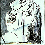 Pablo Picasso (1881-1973) Period of creation: 1931-1942 - 1937 La femme qui pleure I