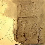 1933 Nu accroupi et Minotaure, Pablo Picasso (1881-1973) Period of creation: 1931-1942
