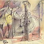 1938 Baigneuses au crabe, Pablo Picasso (1881-1973) Period of creation: 1931-1942
