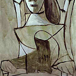 Pablo Picasso (1881-1973) Period of creation: 1931-1942 - 1939 Femme assise au chapeau 5