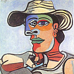 1938 Marin, Pablo Picasso (1881-1973) Period of creation: 1931-1942