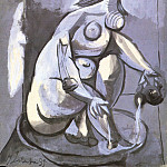 1939 Femme se baignant, Pablo Picasso (1881-1973) Period of creation: 1931-1942