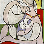 1932 Nu au collier, Pablo Picasso (1881-1973) Period of creation: 1931-1942