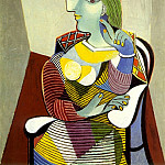 1937 Portrait de Marie-ThВrКse, Pablo Picasso (1881-1973) Period of creation: 1931-1942
