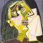 1937 La femme qui pleure 10, Pablo Picasso (1881-1973) Period of creation: 1931-1942