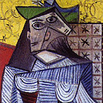 1941 Buste de femme , Pablo Picasso (1881-1973) Period of creation: 1931-1942