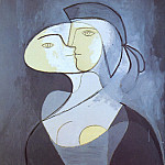 Pablo Picasso (1881-1973) Period of creation: 1931-1942 - 1931 Marie-ThВrКse - face et profil