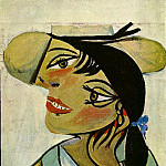 1937 Portrait de femme2, Pablo Picasso (1881-1973) Period of creation: 1931-1942