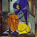 Pablo Picasso (1881-1973) Period of creation: 1931-1942 - 1937 Figure assise