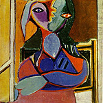 1936 Femme au chapeau, Pablo Picasso (1881-1973) Period of creation: 1931-1942