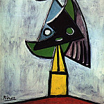 Pablo Picasso (1881-1973) Period of creation: 1931-1942 - 1935 TИte de femme (Olga Kokhlova)