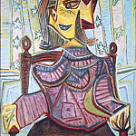 Pablo Picasso (1881-1973) Period of creation: 1931-1942 - 1939 Dora Maar assise