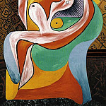 Pablo Picasso (1881-1973) Period of creation: 1931-1942 - 1932 Le repos