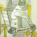 Pablo Picasso (1881-1973) Period of creation: 1931-1942 - 1941 Femme assise Е labВcВdaire