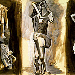 1942 Laubade [Рtude], Pablo Picasso (1881-1973) Period of creation: 1931-1942
