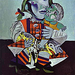 Pablo Picasso (1881-1973) Period of creation: 1931-1942 - 1938 Maya Е la poupВe et au cheval