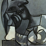 1938 Buste de femme accoudВe, Pablo Picasso (1881-1973) Period of creation: 1931-1942