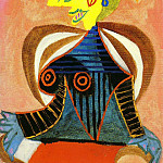 Pablo Picasso (1881-1973) Period of creation: 1931-1942 - 1937 Portrait de Lee Miller Е lArlВsienne
