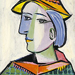 Pablo Picasso (1881-1973) Period of creation: 1931-1942 - 1936 Marie-ThВrКse Walter au chapeau