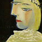 Pablo Picasso (1881-1973) Period of creation: 1931-1942 - 1937 Portrait de Marie-ThВrКse 3