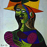 Pablo Picasso (1881-1973) Period of creation: 1931-1942 - 1938 Buste de femme (Dora Maar) 2