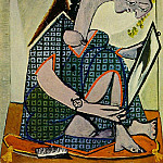 1936 Femme Е la montre, Pablo Picasso (1881-1973) Period of creation: 1931-1942