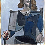 Pablo Picasso (1881-1973) Period of creation: 1931-1942 - 1941 Buste de femme au chapeau