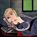 1939 Femme couchВe lisant , Pablo Picasso (1881-1973) Period of creation: 1931-1942
