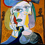 1939 Femme assise au chapeau 1, Pablo Picasso (1881-1973) Period of creation: 1931-1942